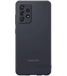 """Originalus juodas dėklas """"Silicone Cover"""" Samsung Galaxy A52 telefonui """"EF-PA525TBE"""""""