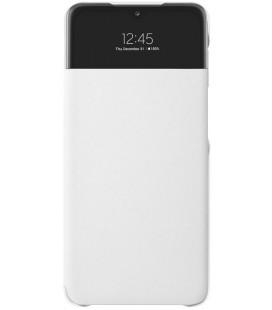 """Originalus baltas atverčiamas dėklas """"S-View Case"""" Samsung Galaxy A32 5G telefonui """"EF-EA326PWE"""""""