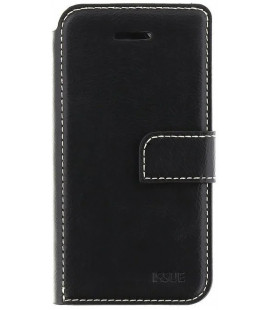 """Juodas atverčiamas dėklas Huawei Y6P telefonui """"Molan Cano Issue"""""""