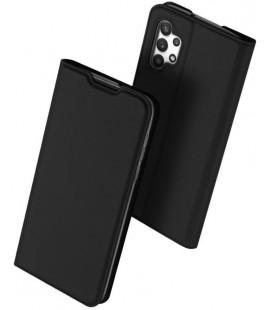 """Juodas atverčiamas dėklas Samsung Galaxy A32 LTE telefonui """"Dux Ducis Skin Pro"""""""