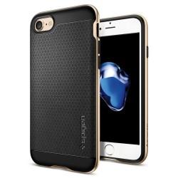 """Auksinės spalvos dėklas Apple iPhone 7 telefonui """"Spigen Neo Hybrid"""""""
