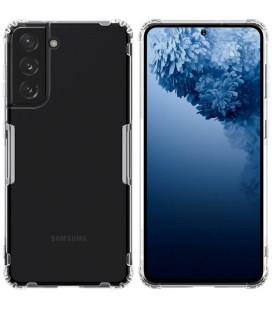 """Skaidrus silikoninis dėklas Samsung Galaxy S21 telefonui """"Nillkin Nature"""""""