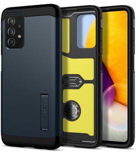 "Pilkas dėklas Samsung Galaxy A72 telefonui ""Spigen Tough Armor"""