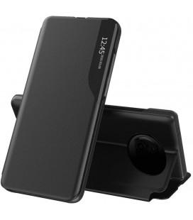 """Juodas atverčiamas dėklas Xiaomi Poco X3 Pro / X3 NFC telefonui """"Tech-protect Smart View"""""""