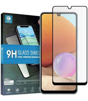 """Juodas apsauginis grūdintas stiklas Samsung Galaxy A32 LTE telefonui """"Mocolo TG Full Glue"""""""