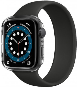 """Skaidrus dėklas Apple Watch 4/5/6/SE (40mm) laikrodžiui """"Spigen Thin Fit"""""""
