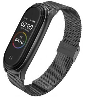 """Juoda apyrankė Xiaomi Mi Smart Band 5/6 laikrodžiui """"Tech-Protect Milaneseband"""""""