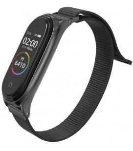 """Juoda apyrankė Xiaomi Mi Smart Band 5/6 laikrodžiui """"Tech-Protect Nylon"""""""