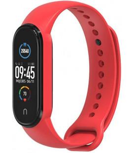 """Raudona apyrankė Xiaomi Mi Smart Band 5/6 laikrodžiui """"Tech-Protect Iconband"""""""