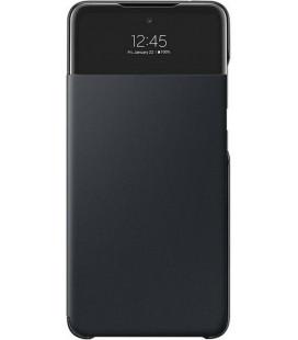"""Originalus juodas atverčiamas dėklas """"S-View Case"""" Samsung Galaxy A72 telefonui """"EF-EA725PBE"""""""