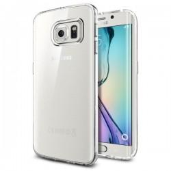 "Skaidrus dėklas Samsung Galaxy S6 Edge G925F telefonui ""Spigen Liquid Crystal"""