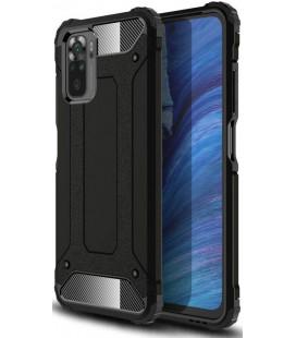 """Juodas dėklas Xiaomi Redmi Note 10/10S telefonui """"Tech-Protect Xarmor"""""""