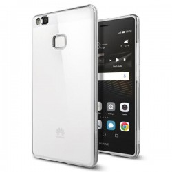 "Skaidrus dėklas Huawei P9 Lite telefonui ""Spigen Liquid Crystal"""