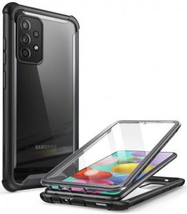"""Juodas dėklas Samsung Galaxy A52 LTE/5G telefonui """"Supcase IBLSN ARES"""""""