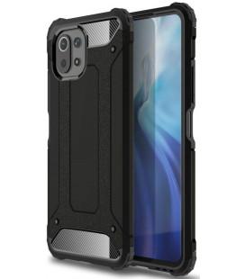 """Juodas dėklas Xiaomi Mi 11 Lite / Mi 11 Lite 5G telefonui """"Tech-Protect Xarmor"""""""