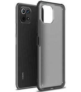 "Juodas dėklas Xiaomi Mi 11 Lite / Mi 11 Lite 5G telefonui ""Tech-Protect Hybridshell"""