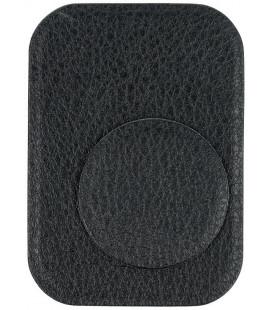 Odinis juodas metalinių plokštelių komplektas magnetiniams telefonų laikikliams