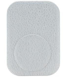 Odinis sidabrinės spalvos metalinių plokštelių komplektas magnetiniams telefonų laikikliams
