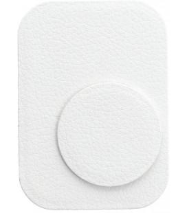 Odinis baltas metalinių plokštelių komplektas magnetiniams telefonų laikikliams
