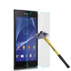 Apsauginis grūdintas stiklas SONY Xperia T2 telefonui