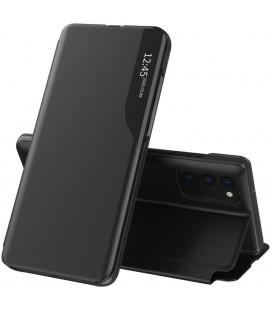"""Juodas atverčiamas dėklas Samsung Galaxy A32 LTE telefonui """"Tech-protect Smart View"""""""
