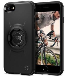"Juodas dėklas Apple iPhone 7/8/SE 2020 telefonui ""Spigen Gearlock GCF121"""