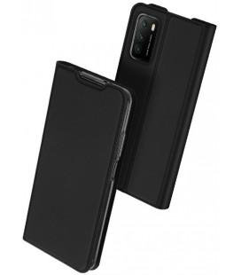 """Juodas atverčiamas dėklas Xiaomi Redmi 9T telefonui """"Dux Ducis Skin Pro"""""""
