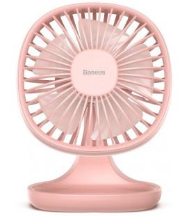"Rožinis stalinis ventiliatorius ""Baseus Pudding Shaped Fan"""