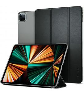 """Juodas atverčiamas dėklas Apple iPad Pro 12.9 2021 planšetei """"Spigen Smart Fold"""""""