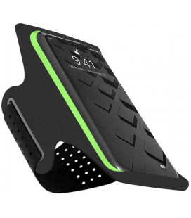 """Juodas/žalias universalus dėklas ant rankos telefonams iki 6,5"""" """"Tech-Protect G10"""""""