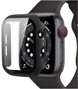 """Juodas dėklas Apple Watch 4/5/6/SE (44mm) laikrodžiui """"Tech-Protect Defense360"""""""