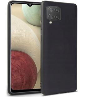 """Juodas dėklas Samsung Galaxy M12 telefonui """"Tech-protect Icon"""""""