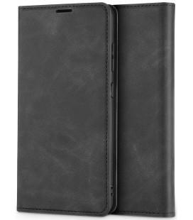 """Pilkas atverčiamas dėklas Samsung Galaxy A72 telefonui """"Tech-protect Wallet 3"""""""