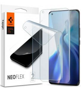 """Apsauginės ekrano plėvelės Xiaomi Mi 11 / Mi 11 Ultra telefonui """"Spigen Neo Flex HD"""""""