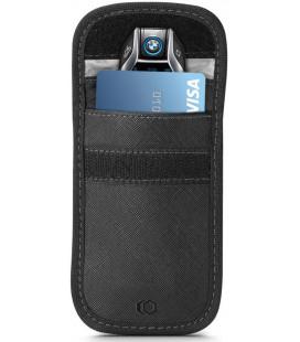 """Juodas automobilio raktų dėklas - įmautė RFID signalo blokavimas """"Tech-Protect V1 Keyless Rfid Signal Blocker"""""""