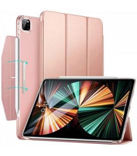 """Rausvai auksinės spalvos atverčiamas dėklas Apple iPad Pro 11 2020/2021 planšetei """"ESR Ascend Trifold"""""""