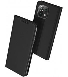 """Juodas atverčiamas dėklas Xiaomi Mi 11 Lite telefonui """"Dux Ducis Skin Pro"""""""