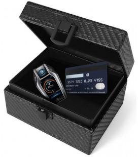 """Juoda (Carbon) dėžutė - RFID signalo blokavimas """"Tech-Protect V3 Keyless Rfid Signal Blocker"""""""