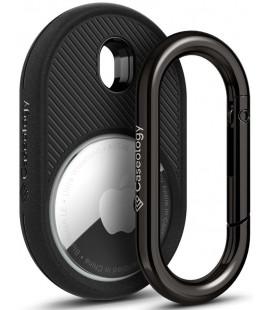 """Juodas dėklas Apple Airtag """"Caseology Vault"""""""