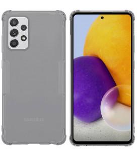 """Skaidrus/pilkas dėklas Samsung Galaxy A72 telefonui """"Nillkin Nature"""""""