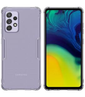 """Skaidrus/pilkas dėklas Samsung Galaxy A52 telefonui """"Nillkin Nature"""""""