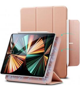 """Rausvai auksinės spalvos atverčiamas dėklas Apple iPad Pro 11 2020/2021 planšetei """"ESR Rebound Magnetic"""""""