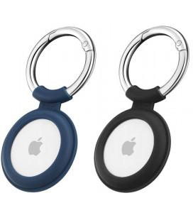 "Juodas/mėlynas dėklas Apple Airtag ""ESR Cloud"""