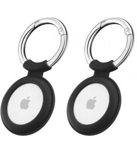 "2x Juodas dėklas Apple Airtag ""ESR Cloud"""
