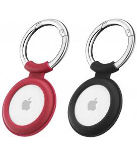 """Juodas/raudonas dėklas Apple Airtag """"ESR Cloud"""""""
