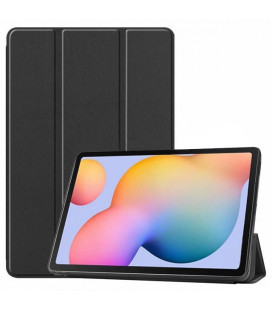 Dėklas Smart Leather Samsung T970/T976 Tab S7+ juodas