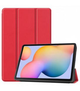 Dėklas Smart Leather Samsung T970/T976 Tab S7+ raudonas