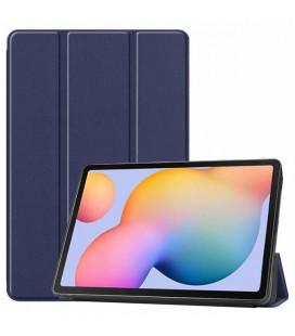 Dėklas Smart Leather Samsung T970/T976 Tab S7+ tamsiai mėlynas