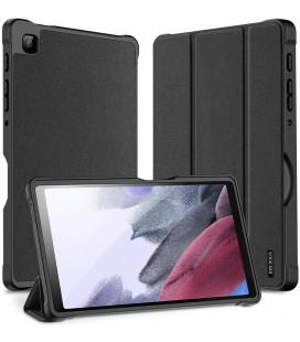 """Juodas atverčiamas dėklas Samsung GALAXY TAB A7 Lite 8.4 T220/T225 planšetei """"Dux Ducis Domo"""""""