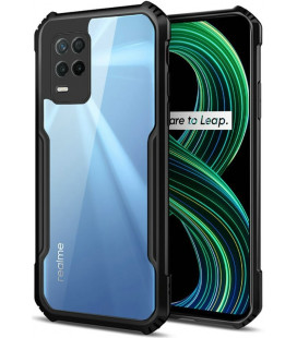 """Juodas dėklas Realme 8 5G telefonui """"Tech-Protect Beetle"""""""